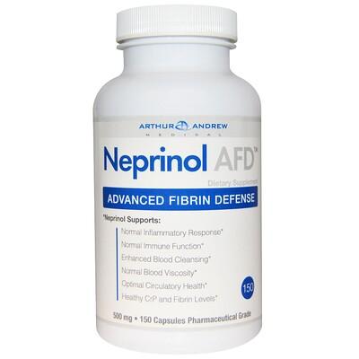 Neprinol AFD, улучшенная фибриновая защита, 500 мг, 150 капсул afd 5008