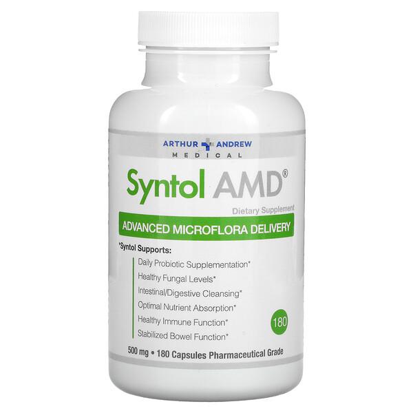 シントール AMD、高度なマイクロフローラをお届け、500 mg、180 錠