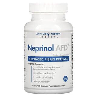 Arthur Andrew Medical, Neprinol AFD, 어드밴스드 섬유소 디펜스, 500 mg, 90 정