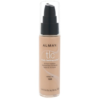 Almay, Truly Lasting Color Makeup, 160 Naked, 1.0 fl oz (30 ml)