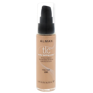 Almay, Truly Lasting Color Makeup, 240 Beige, 1 fl oz (30 ml)
