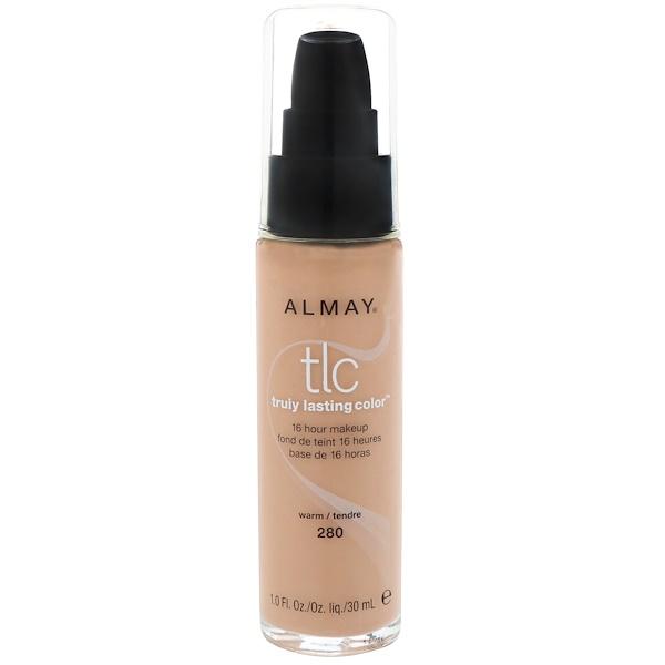 Almay, Truly Lasting Color Makeup, 280 Warm, 1.0 fl oz (30 ml)