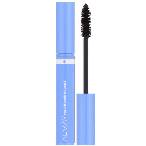 Almay, Multi Benefit Waterproof Mascara, 504 Black, 0.24 fl oz (7 ml) (Discontinued Item)