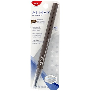 Almay, قلم تحديد الحواجب ، 802 ، بني ، 0.01 أونصة (0.2 غ)