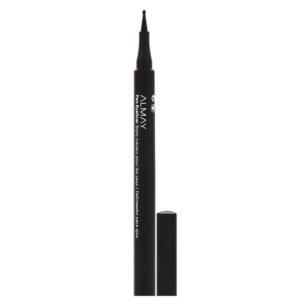 Almay, On the Ball, Pen Eyeliner, 208 Black, 0.056 oz (1.6 g) (Discontinued Item)