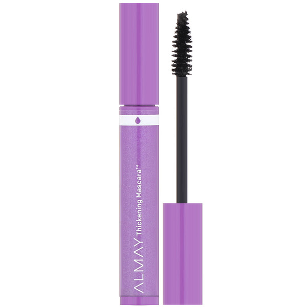Almay, Thickening Waterproof Mascara, 421, Black, 0.26 fl oz (7.7 ml) (Discontinued Item)