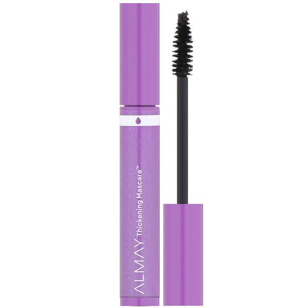 Almay, Thickening Waterproof Mascara, 421, Black, 0.26 fl oz (7.7 ml)