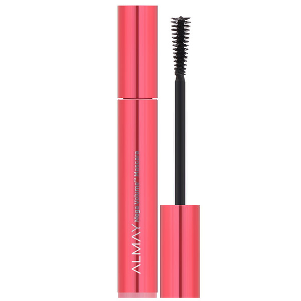 Almay, Mega Volume Mascara, 010, Blackest Black, 0.34 fl oz (10 ml) (Discontinued Item)