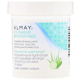 Almay, Eye Makeup Remover Pads, 80 Pads
