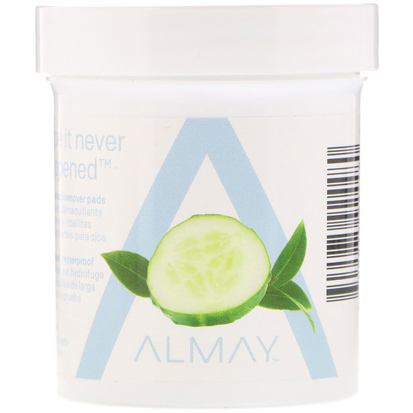 Almay, Eye Makeup Remover Pads, 80 Pads (Discontinued Item)