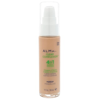 Almay, Clear Complexion Makeup, 500 Beige, 1 fl oz (30 ml)