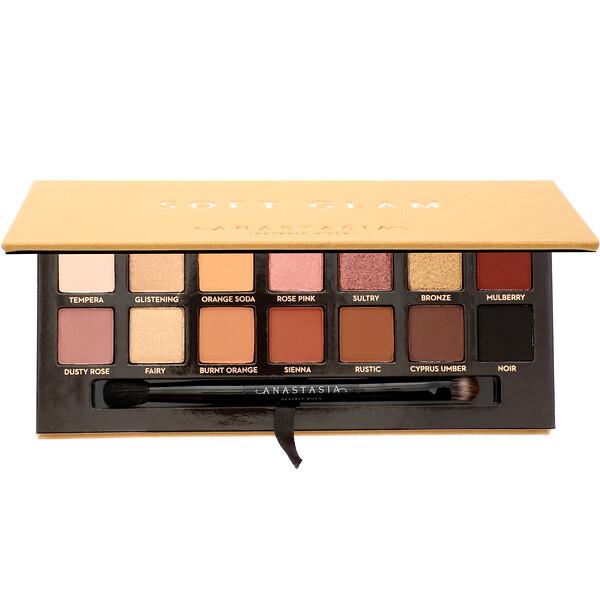 Anastasia Beverly Hills, Soft Glam, Eyeshadow Palette, 0.28 oz (10.36 g)