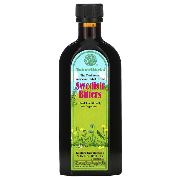 NatureWorks, Swedish Bitters, 8.45 fl oz (250 ml)
