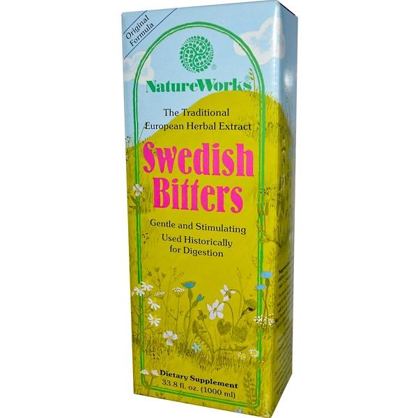 Abkit, NatureWorks, Swedish Bitters, 33.8 fl oz (1000 ml) (Discontinued Item)
