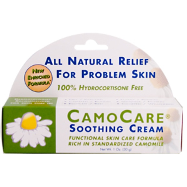 Abkit, CamoCare, Soothing Cream, 1 oz (30 g) (Discontinued Item)