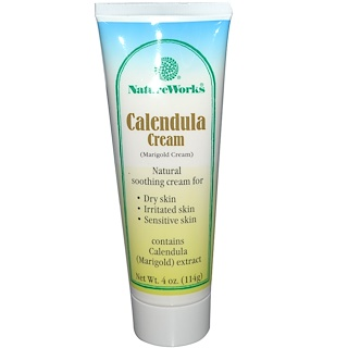 Abkit, NatureWorks, Calendula Cream, 4 oz (114 g)