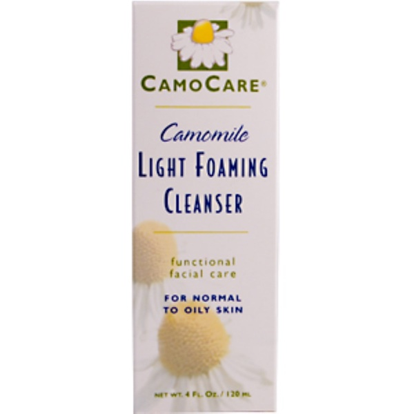 Abkit, CamoCare, Camomile Light Foaming Cleanser, 4 fl oz (120 ml) (Discontinued Item)