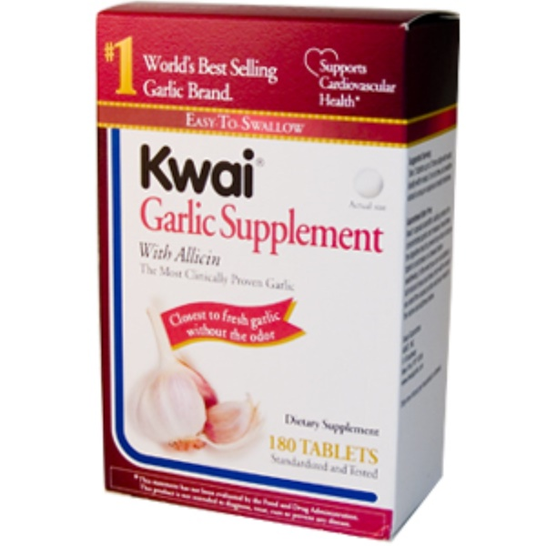 Abkit, Kwai, Garlic Supplement, 180 Tablets (Discontinued Item)