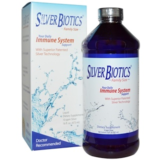 American Biotech Labs, Silver Biotics, Ultimate Immune System Support, 16 fl oz (472 ml)