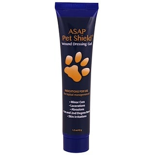 American Biotech Labs, ASAP Pet Shield, Wound Dressing Gel, 1.5 oz (42 g)