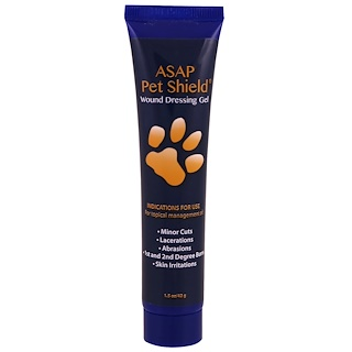 American Biotech Labs, مناعة الحيوانات الأليفة ASAP، جل الجروح، 1.5 أوقية (42 غرام)