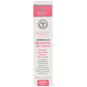 Американ Биотэк Лабс, Advanced Healing  Skin Cream, Natural Grapefruit Scent, 1.2 oz (34 g) отзывы