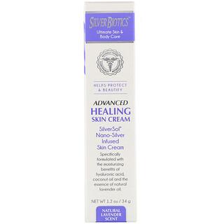 American Biotech Labs, Advanced Healing Skin Cream, hochentwickelte Heilungscreme, natürlicher Lavendel-Duft, 34g (1,2oz.)