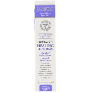 Американ Биотэк Лабс, Advanced Healing Skin Cream, Natural Lavender Scent, 1.2 oz (34 g) отзывы