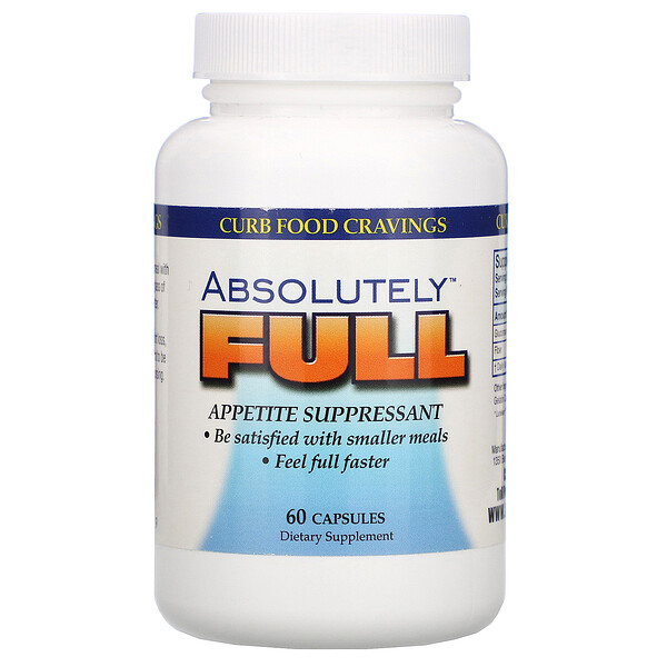 Absolutely Full, Appetite Suppressant, 60 Capsules