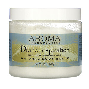 Абра Терапьютикс, Natural Body Scrub, Divine Inspiration, Neroli & Sandalwood, 10 oz (283 g) отзывы