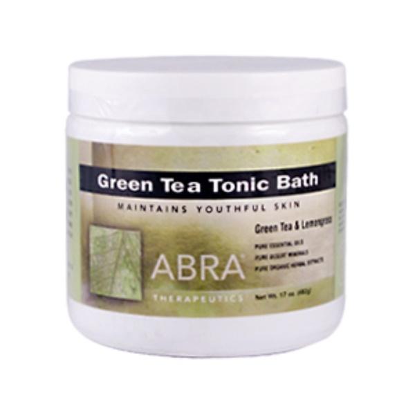 Abra Therapeutics, Green Tea Tonic Bath, 17 oz (482 g) (Discontinued Item)