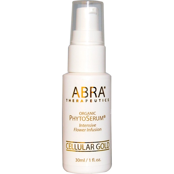 Abra Therapeutics, Organic PhytoSerum, Oro Celular, 1 fl oz (30 ml)