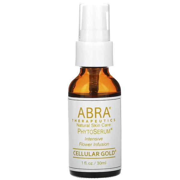Abra Therapeutics, オーガニック フィトセラム®, セラーゴールド, 1 液量オンス (30 ml) (Discontinued Item)