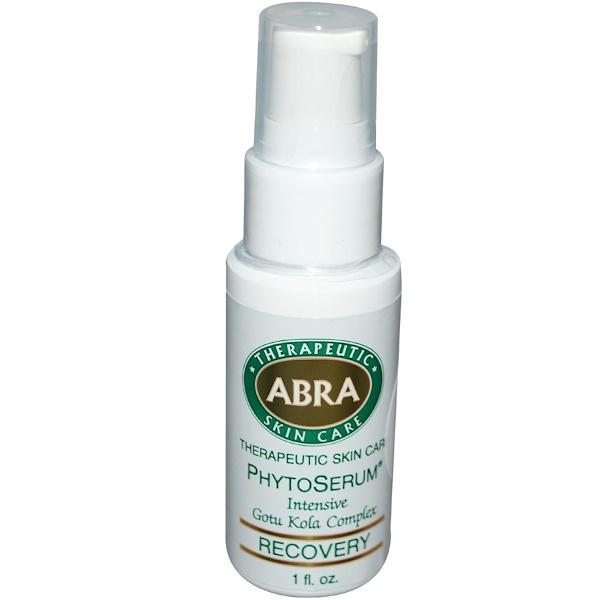 Abra Therapeutics, Organic PhytoSerum, Intensive Gotu Kola Complex, Recovery, 1 fl oz (30 ml) (Discontinued Item)