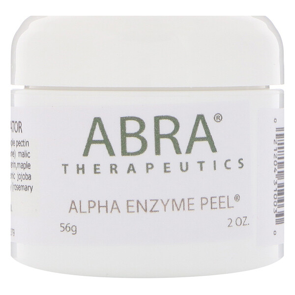 Abra Therapeutics, Alpha Enzyme Peel, 56 גר' (2 oz)