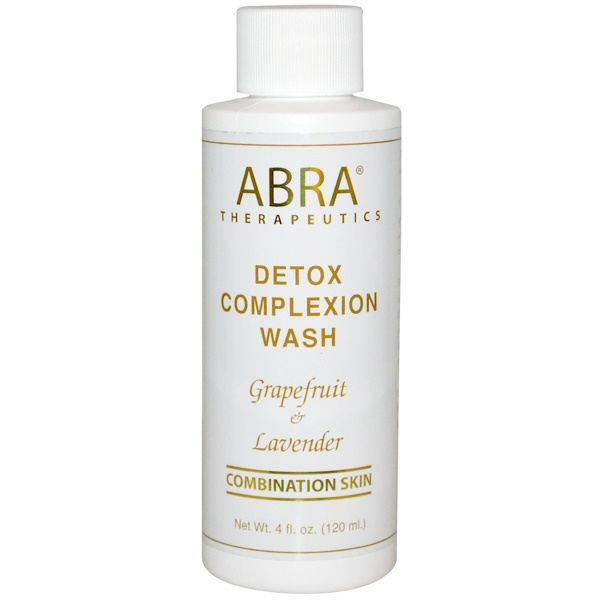 Abra Therapeutics, Detox Complexion Wash, Grapefruit & Lavender, 4 fl oz (120 ml)