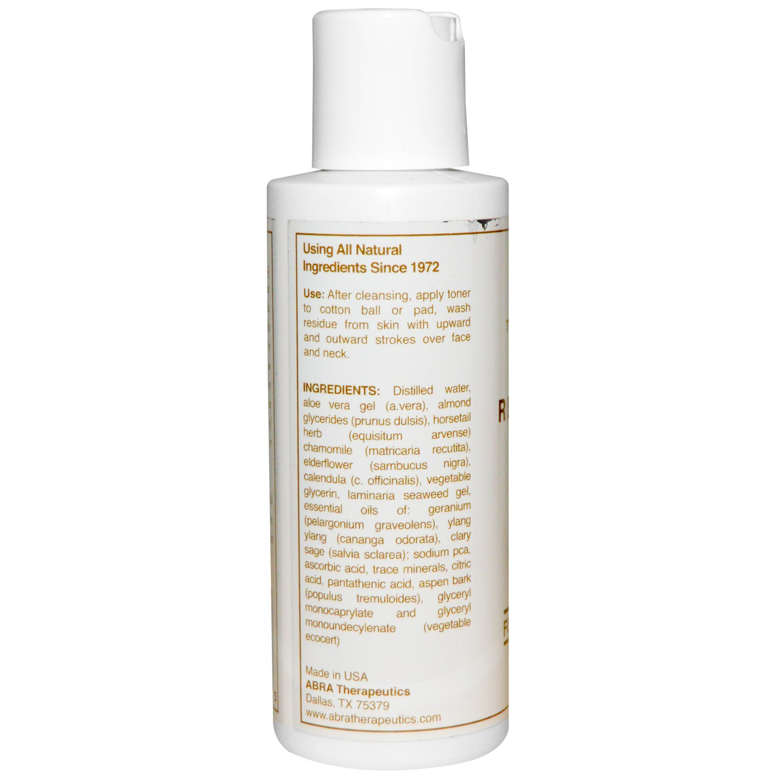 Abra Therapeutics Restorative Toner For Dry And Dehydrated Skin - 4 Oz MEDI-FIRST Eyewash 98.3% Ophthalmic Solution Single Use 4oz 6 Bottles