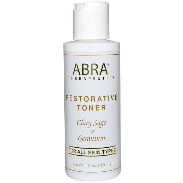 Abra Therapeutics, Restorative Toner, 4 fl oz (120 ml) (Discontinued Item)