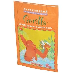 Abra Therapeutics, Пена на ванны Gorilla Jungle Banana, 2,5 унции (71 г)