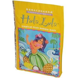 Abra Therapeutics, Hula Lula Tropical Fruit Bubble Bath, 2.5 oz (71 g)