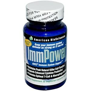 Американ Биосайэнс, ImmPower, AHCC Immune System Support, 500 mg, 30 Veggie Caps отзывы