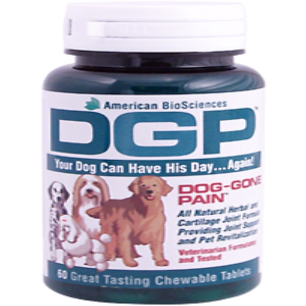 American Biosciences, DGP, For Dogs & Cats, 60 Chewable Tablets (Discontinued Item)