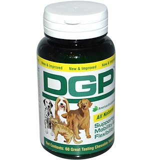 American Biosciences, DGP, 60 Chewable Tablets