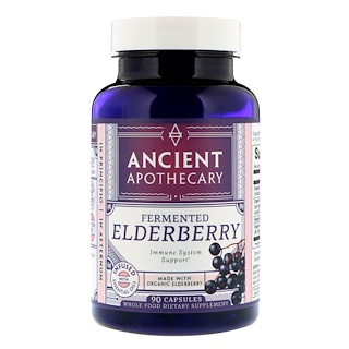 Ancient Apothecary, Fermented Elderberry, 90 Capsules