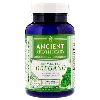 Ancient Apothecary, Fermented Oregano, 90 Capsules