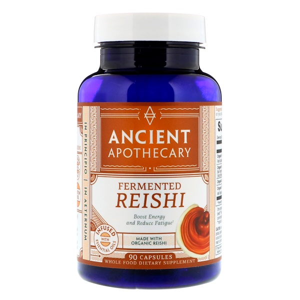 Ancient Apothecary, Fermented Reishi, 90 Capsules (Discontinued Item)