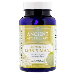 Ancient Apothecary, Fermented Lion's Mane, 90 Capsules