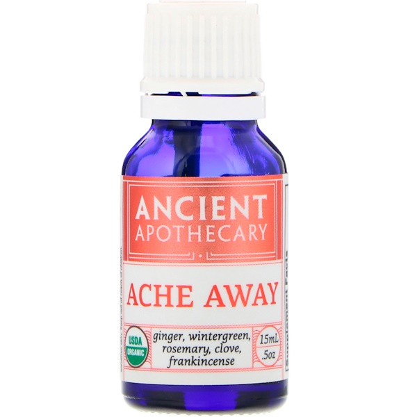 Ancient Apothecary, Ache Away, .5 oz (15 ml) (Discontinued Item)