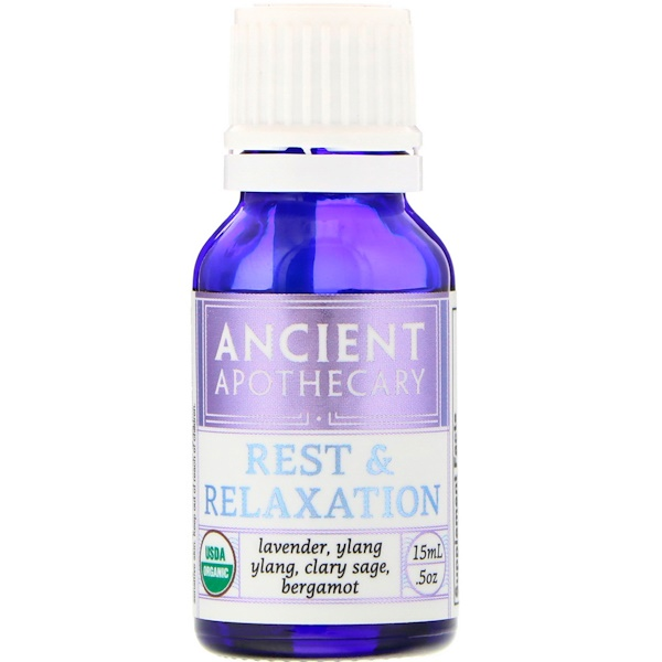 Ancient Apothecary, Descanso y relajación, 0.5 oz (15 ml) (Discontinued Item)