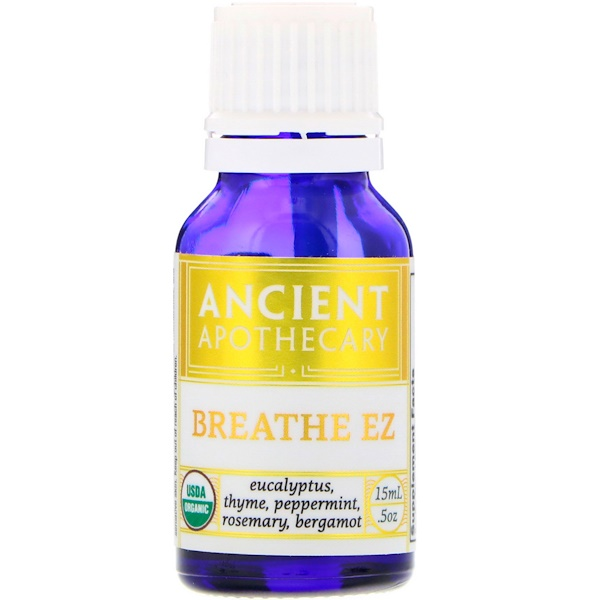 Ancient Apothecary, Breathe EZ، 0.5 أوقية (15 مل)